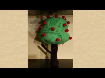 Albero all'uncinetto amigurumi -  crochet tree  - árbol en crochet
