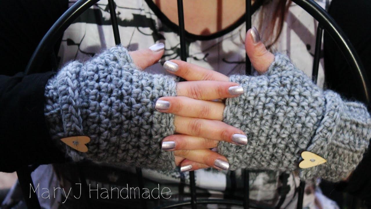 Mezzi guanti super facili e veloci all'uncinetto