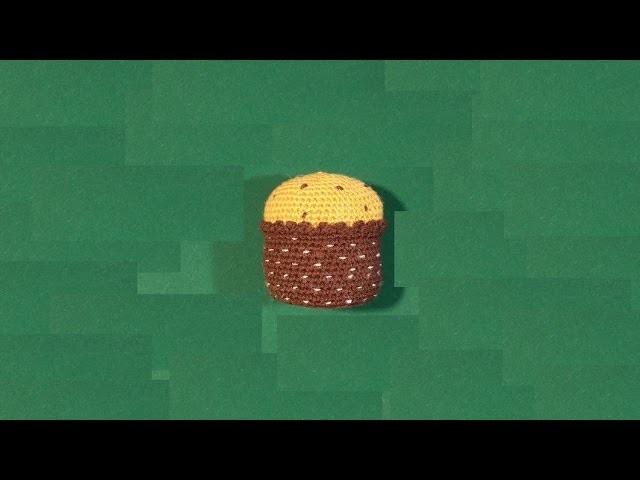 Panettone all'uncinetto amigurumi - tutorial - crochet Christmas cake - dulce de Navidad en crochet