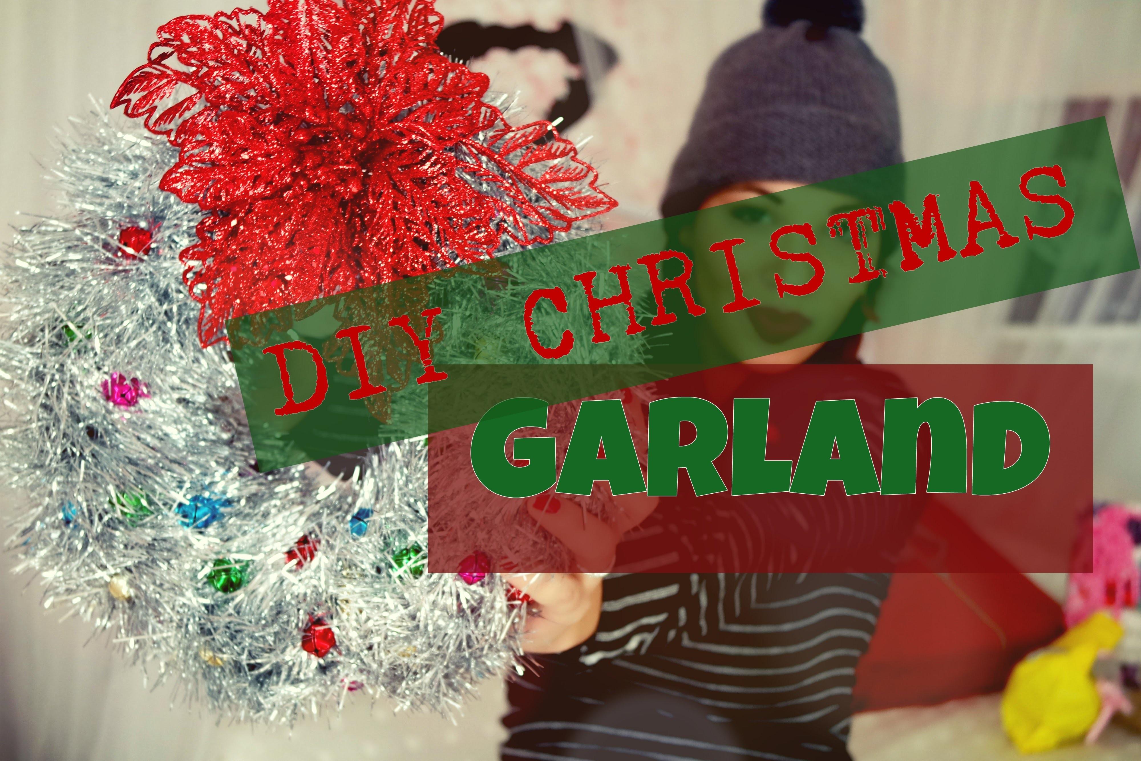 DIY Christmas garland || HOME DECORE | Ziky