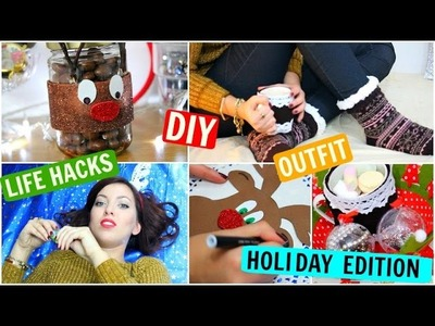 DIY Holiday Gift Ideas, Life Hacks ☆ Christmas 2015 ☆