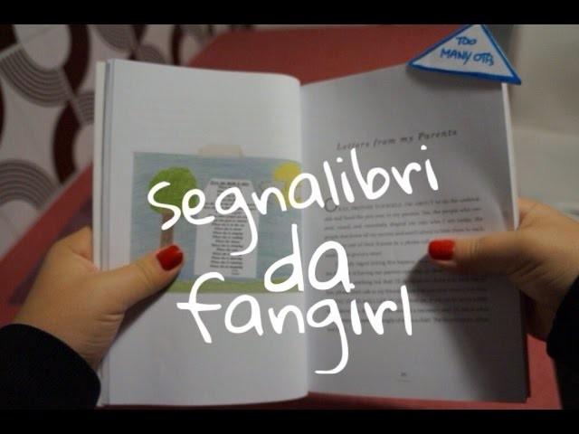 DIY: Segnalibri da fangirl || Jylf