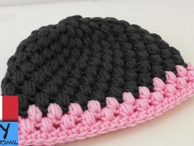 Come cucire ad uncinetto un cappello di lana – Semplice cappello di lana