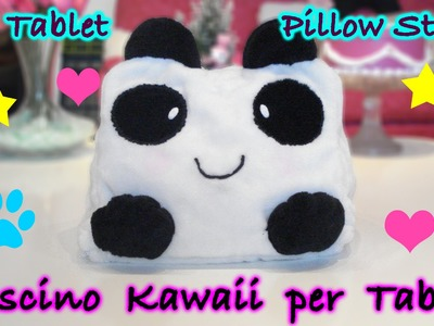 Cuscino per iPad Kawaii Panda Fai da Te - DIY iPad Pillow