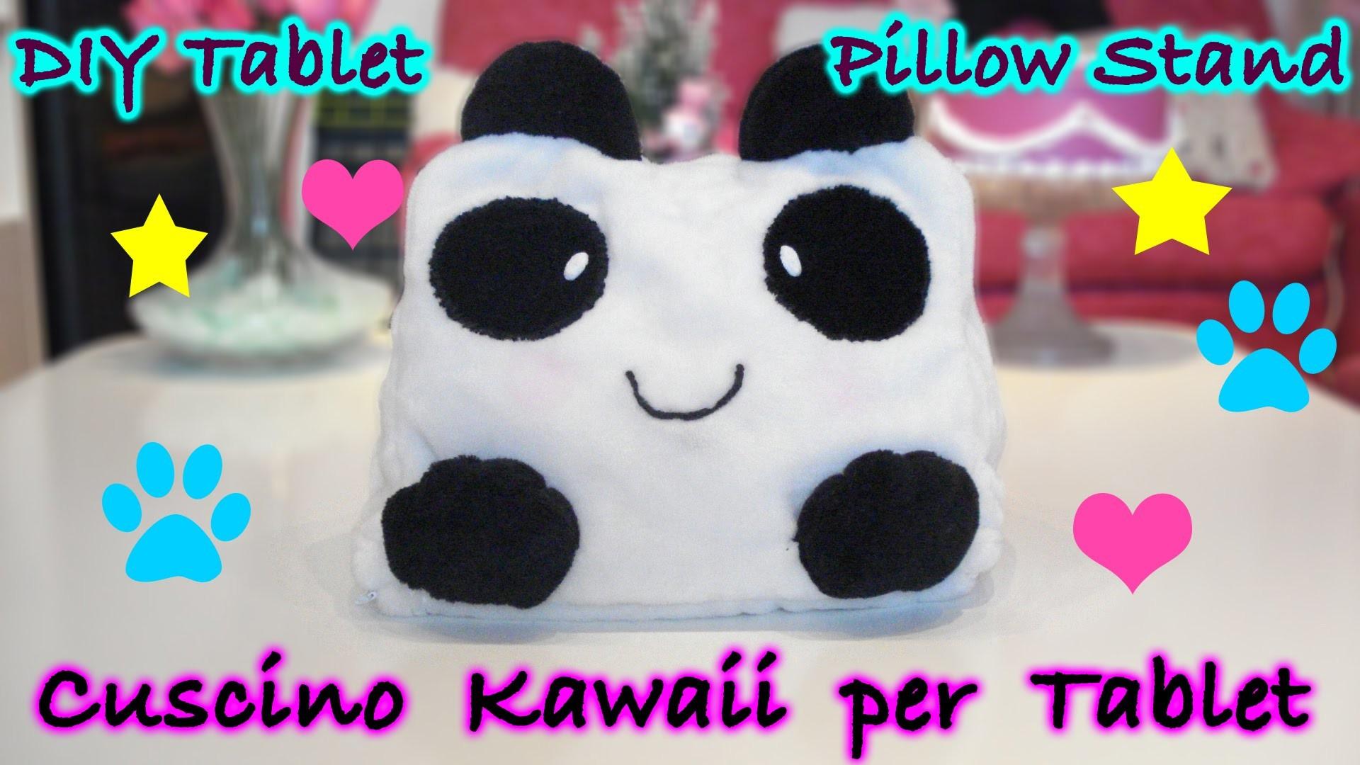 Cuscino per iPad Kawaii Panda Fai da Te - DIY iPad Pillow