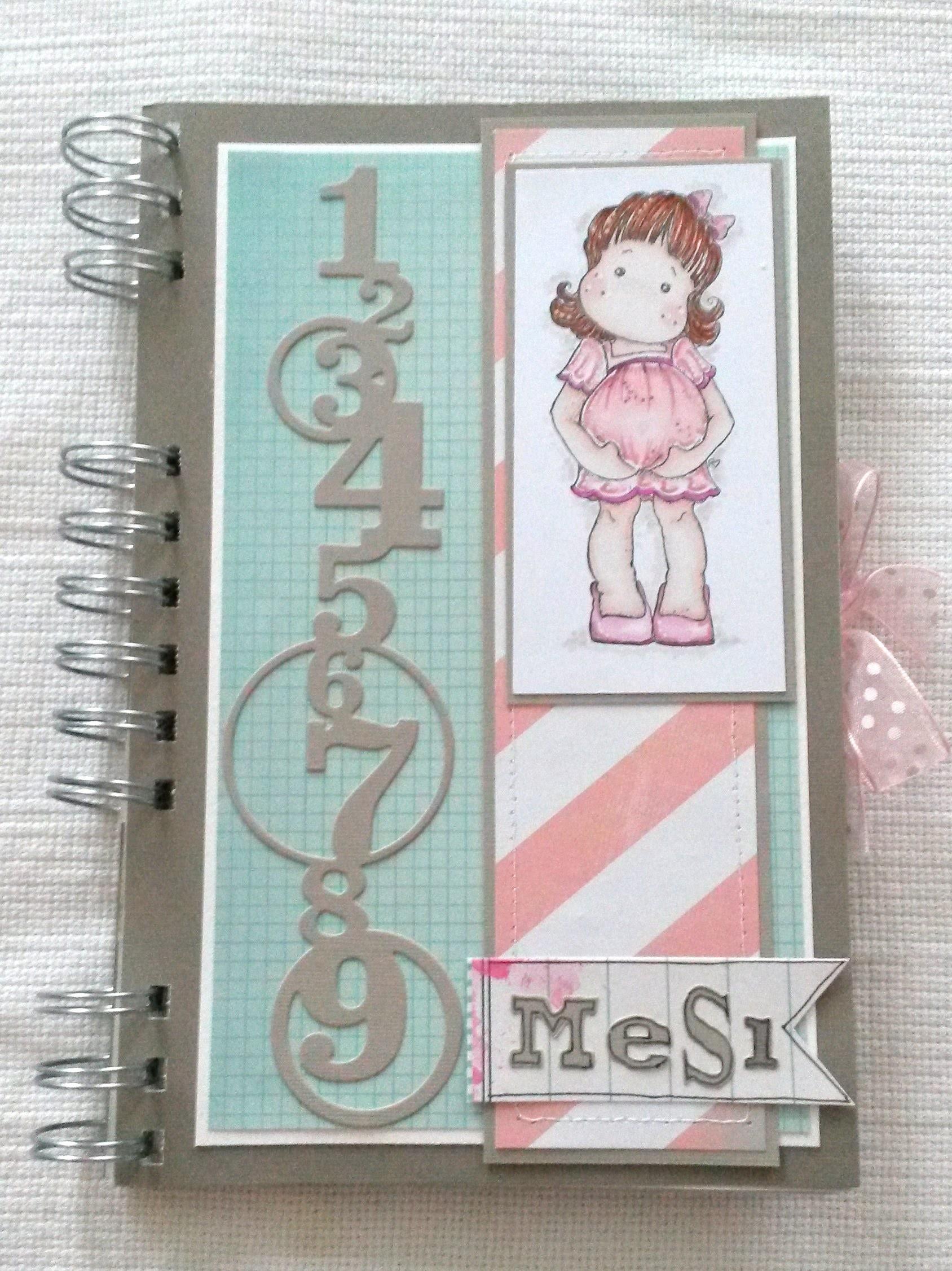Diario gravidanza (Pregnancy journal) DIY