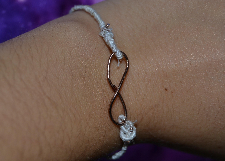 DIY braccialetto con l'infinito ∞