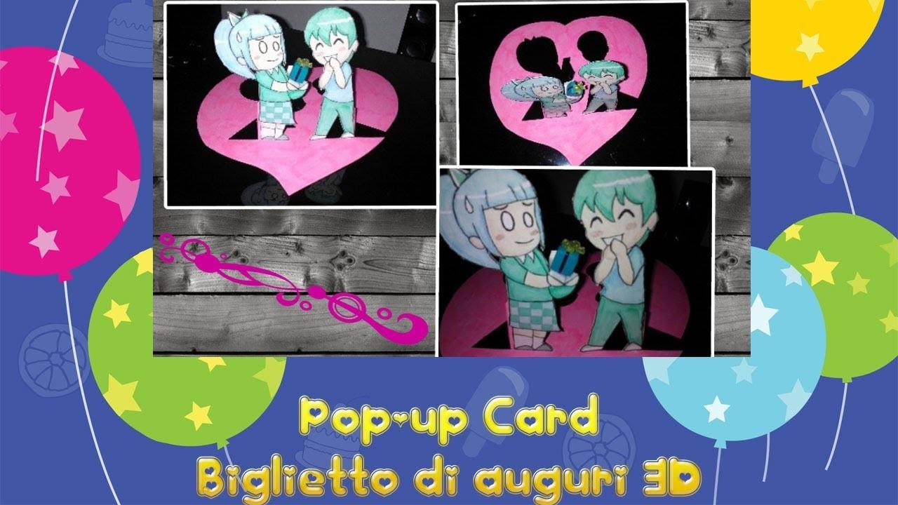 DIY: Pop-up Card ❁ Biglietto di auguri 3D