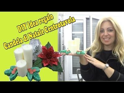 DIY Candela di Natale SENZA stampo per candele profumata #hobby hand con voi