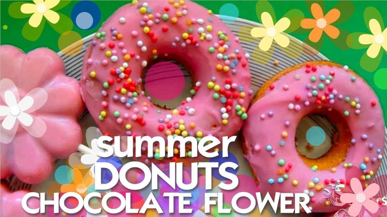 Tutorial: Fiori di cioccolato e Donuts
