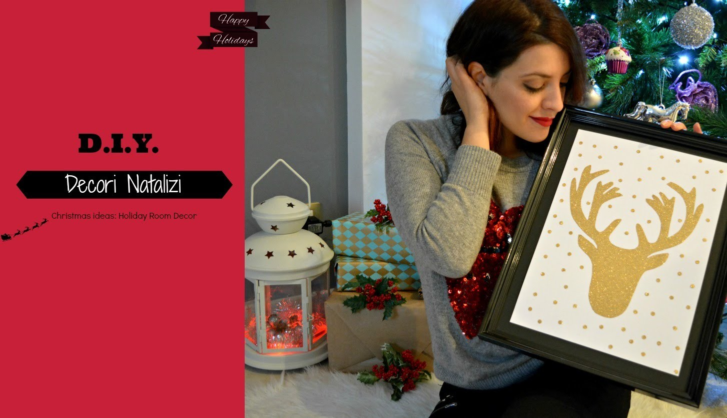 D.I.Y.||  Christmas ideas - Holiday room decor  ❅