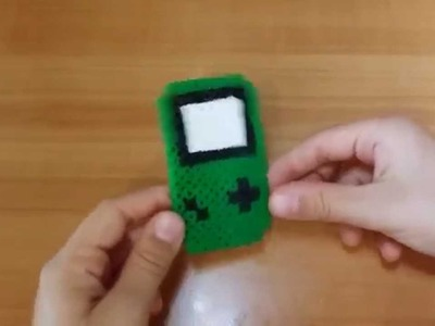 Tutorial Game Boy con le pyssla  - hama beads  !!