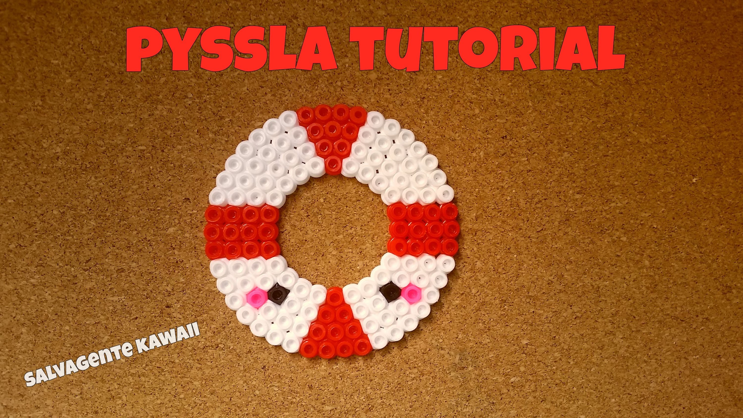 Speed pyssla tutorial salvagente kawaii | FANTYSTEFY