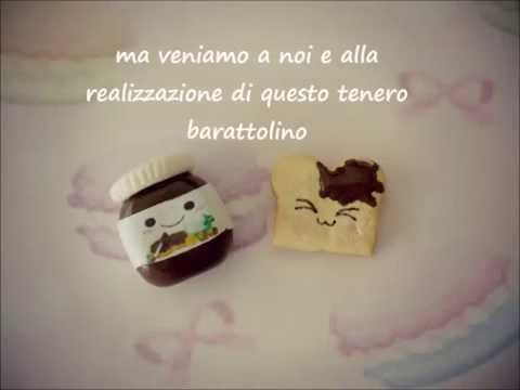 Tutorial toast e nutella kawaii in fimo -2° parte-