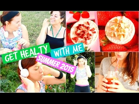 Get Healthy With Me ♡ Essentials, DIY Healthy & Vegan Snacks + Workouts