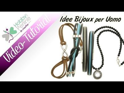 Idee per Bijoux da uomo| TUTORIAL - HobbyPerline.com