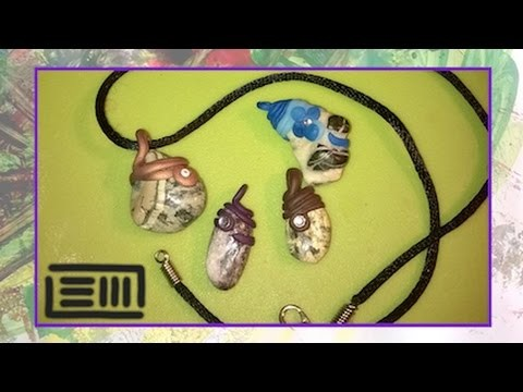 TUTORIAL - Come creare una collana con un sasso