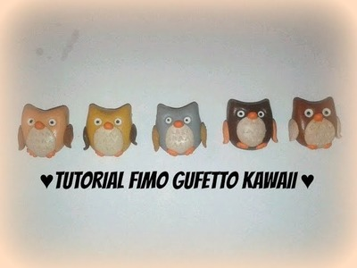 Tutorial Fimo gufetto kawaii - Owl kawaii Polymerclay tutorial