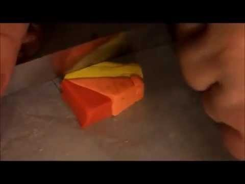 Tutorial murrina arcobaleno - Cane Rainbow polymer clay
