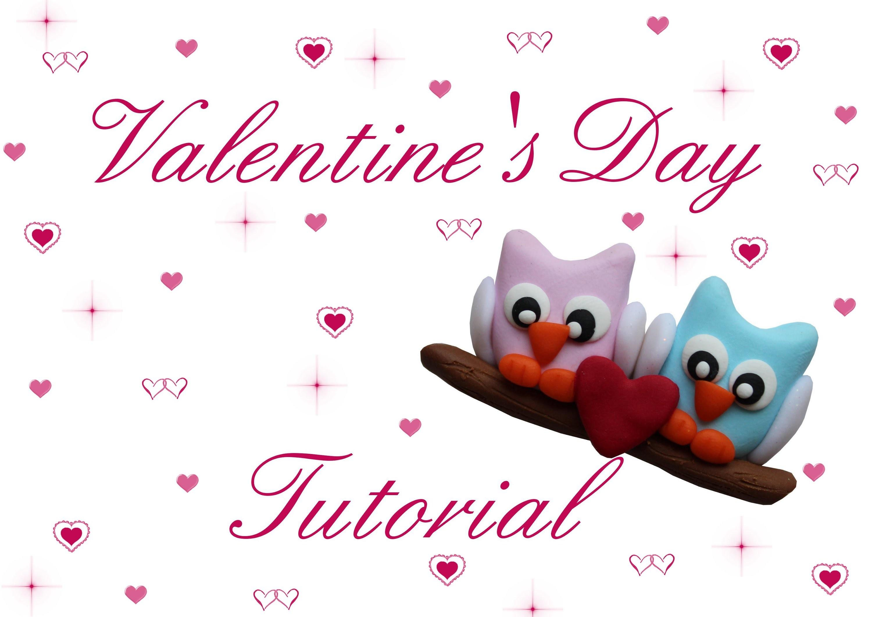 ❤ Gufetti innamorati ❤ Owls in love ❤ Tutorial S.Valentino #1