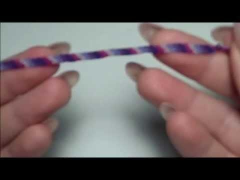 """""""Tutorial"""": ** Come realizzare un bracciale con fili di cotone**"""
