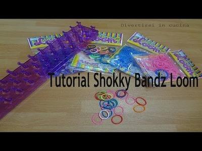 Tutorial bracciale Shokky Bandz Loom