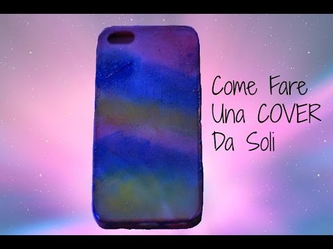 Come fare una cover per cellulare con smalti - DIY cover smartphone