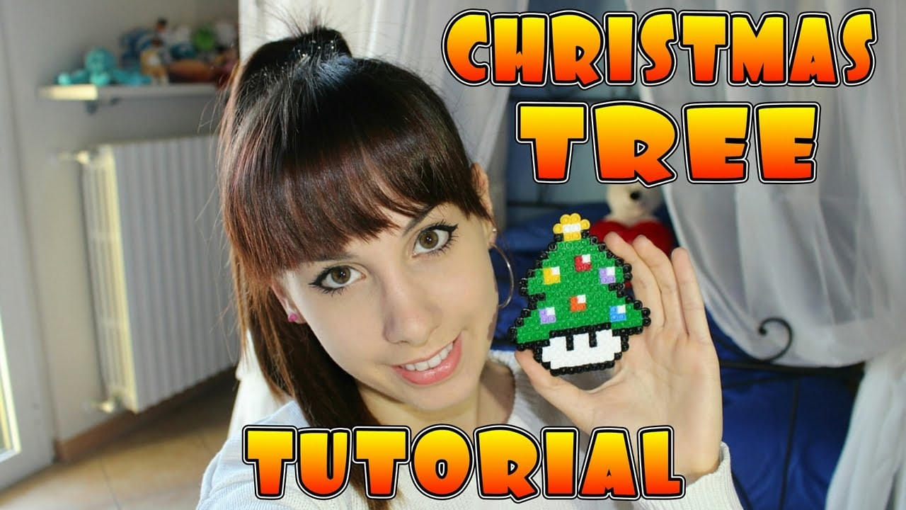 Tutorial Pyssla - Christmas Tree