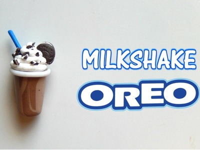 Tutorial fimo- Polymerclay tutorial- Milkshake OREO