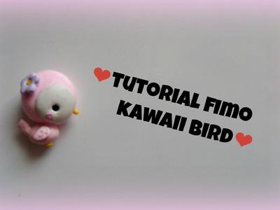 TUTORIAL FIMO kawaii bird