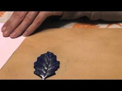 1° VIDEO TUTORIAL: come realizzare una foglia un po' particolare