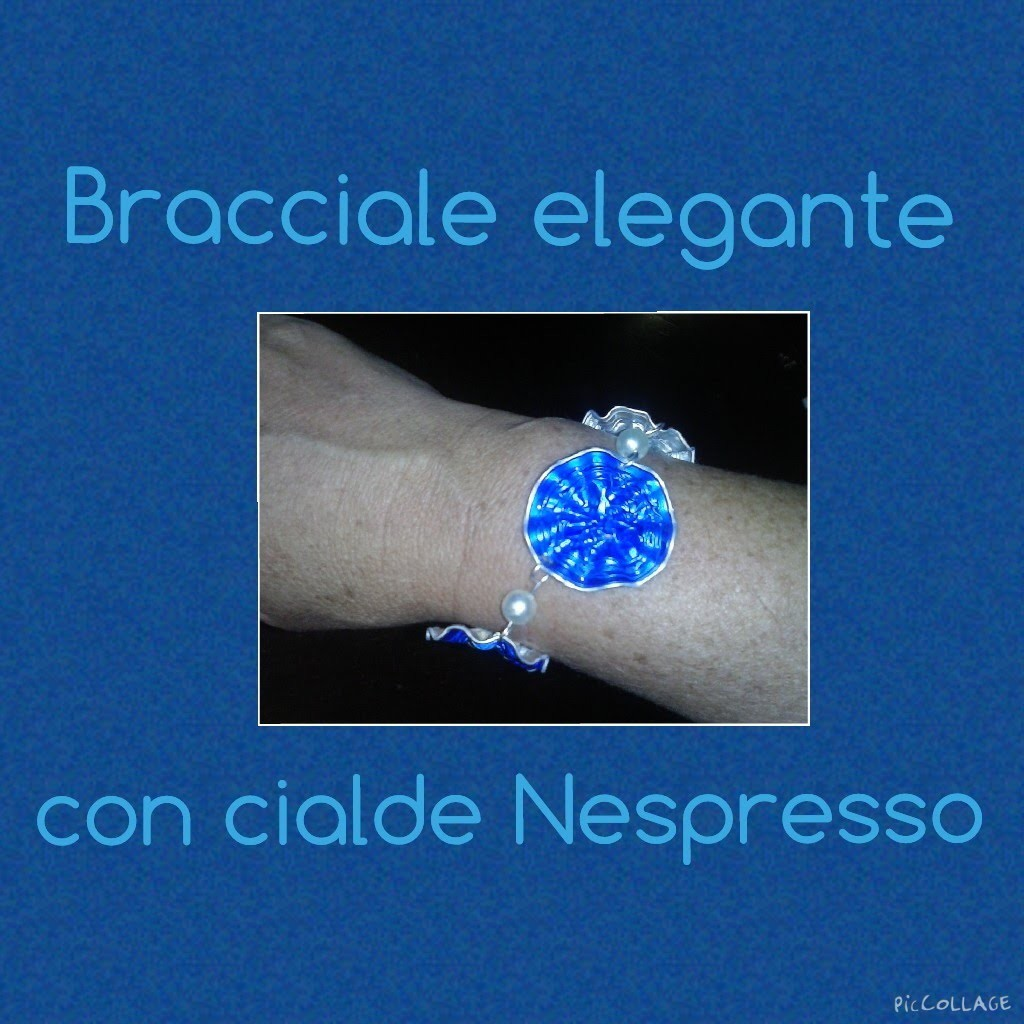 Bracciale elegante con cialde Nespresso I 4° tutorial I Elimo73
