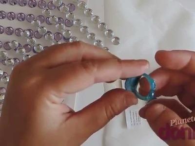 Come fare un anello con la colla a caldo - Tutorial