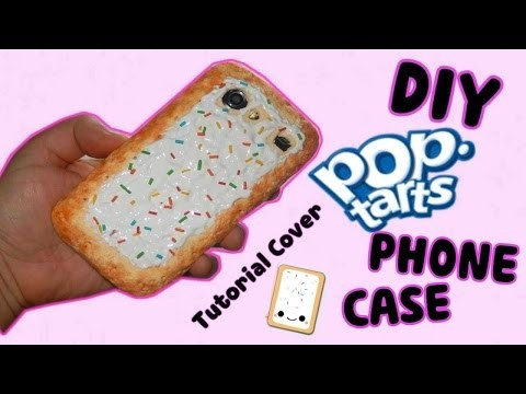 DIY | Pop Tart Phone Case Tutorial - Cover in silicone || Iolanda Sweets