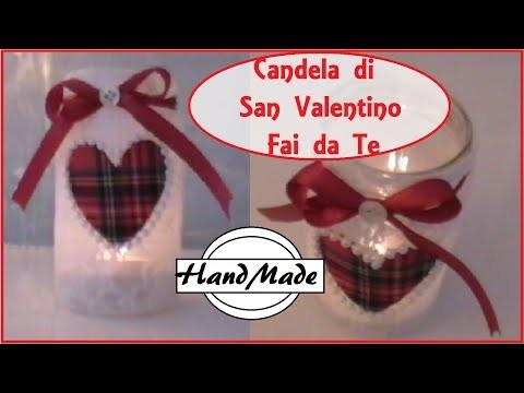 Vasetto porta candela Romantico - San Valentino - DIY candle jar