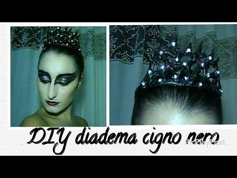 Diadema Cigno Nero DIY