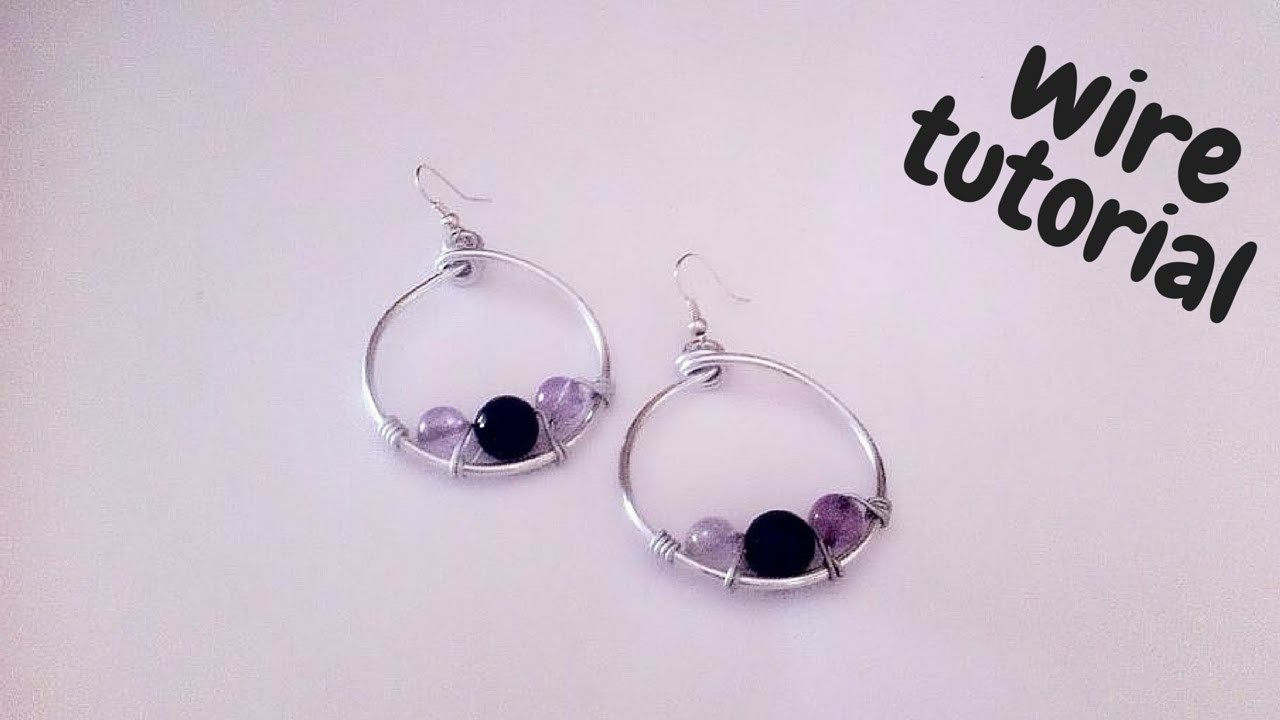 Tutorial \ Wire Earrings \ Orecchini in Wire \ Alluminio e Pietre Dure