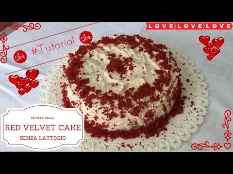 #Tutorial - DIY - Red Velvet Cake | San Valentino | senza lattosio | BIMBY TM31