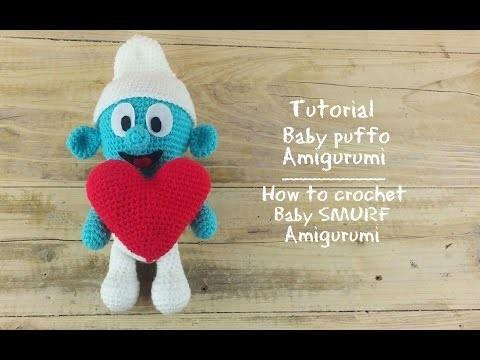 Baby puffo Amigurumi | How to crochet baby Murf Amigurumi