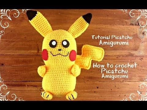 Picatchu Amigurumi | How to crochet Picatchu Amigurumi