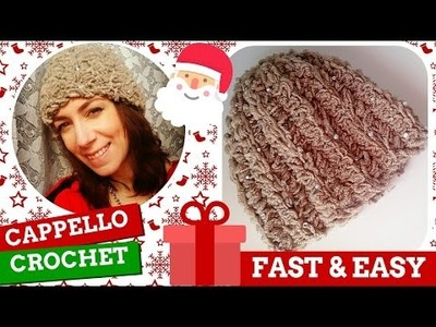 TutorialXMAS #5 | Cappello all'uncinetto | How to crochet a hat | Katy Handmade