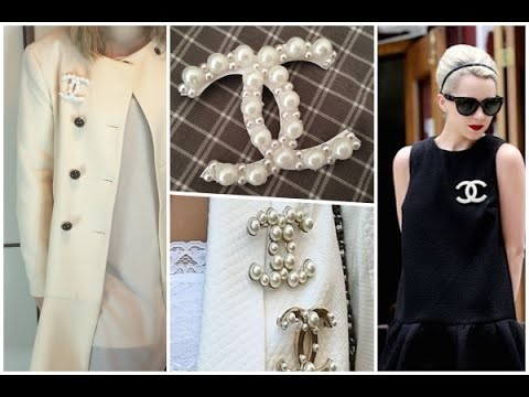 DIY - CHANEL BROOCH Tutorial Spilla con Perle | FASHION THERAPY