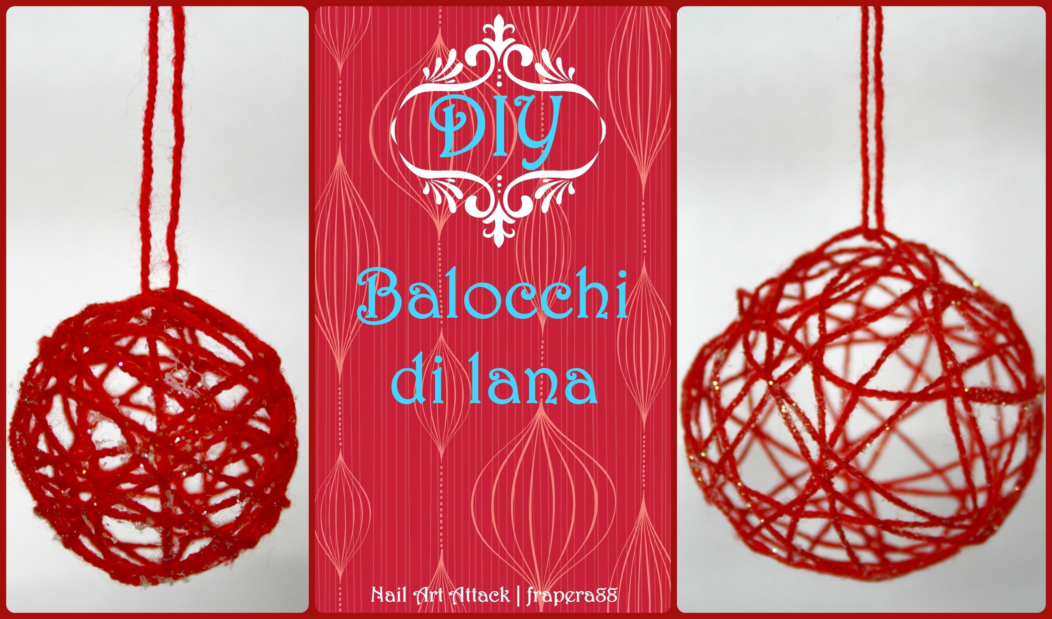 .:DIY:. Balocchi di lana - Tutorial natale