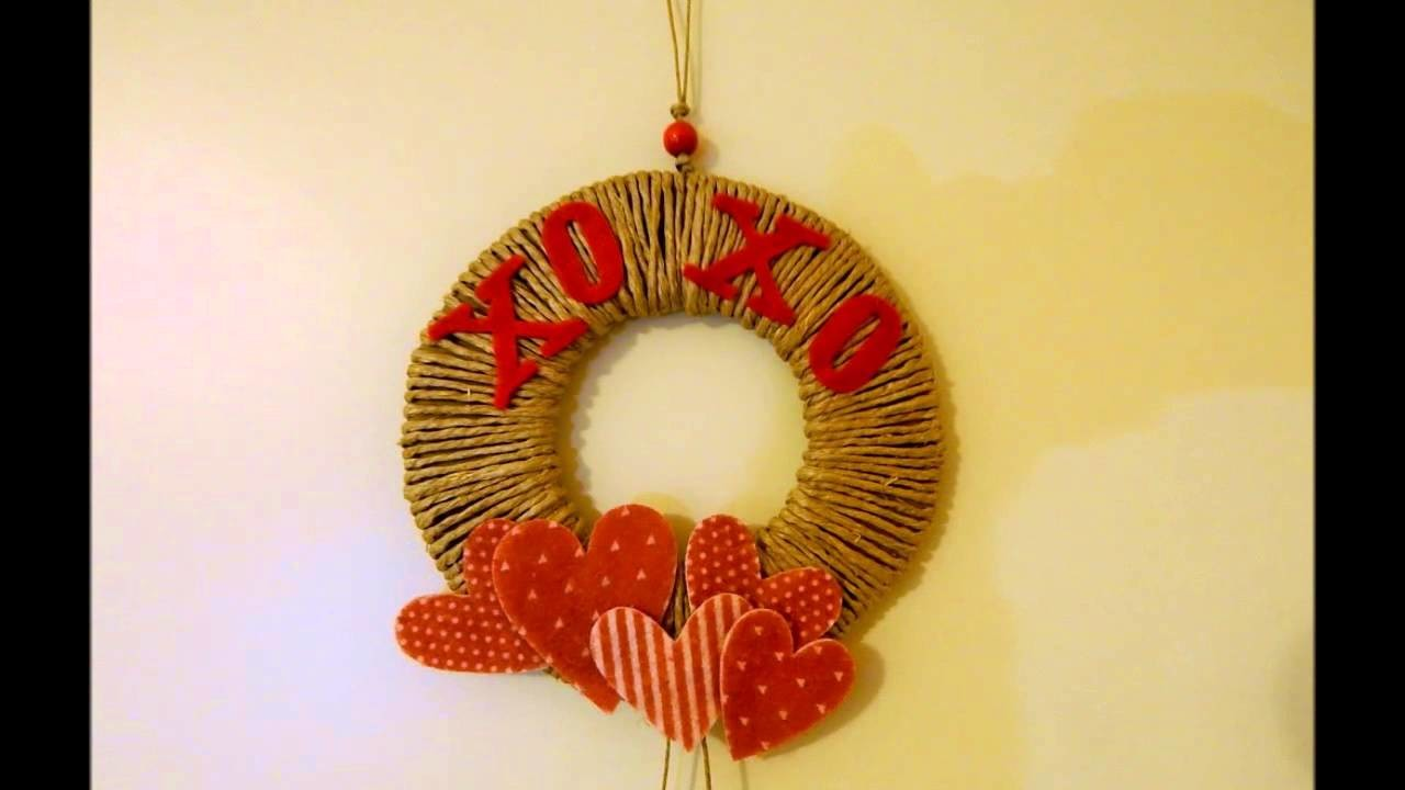 DIY XOXO WREATH