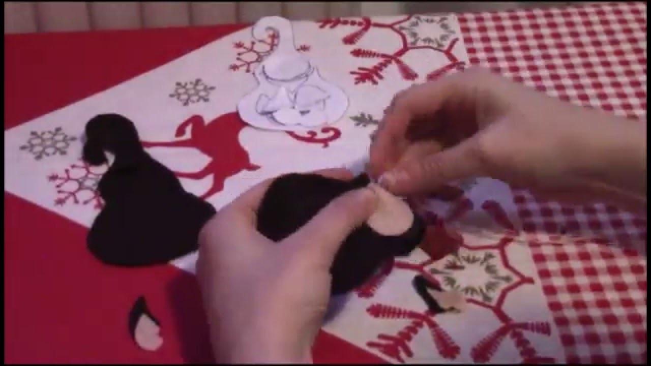 DIY: tutorial realizzazione Giuseppe presepe in feltro