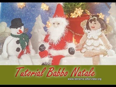 Tutorial Babbo Natale amigurumi - Santa Claus crochet 1.2