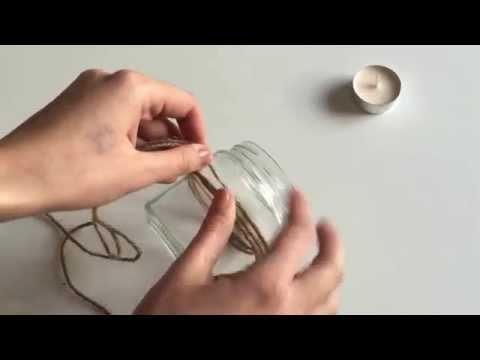 DIY: Come creare un portacandele!♡