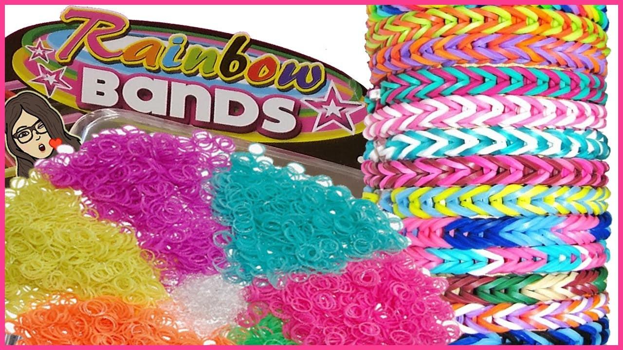 Gli elastici Rainbow Bands Tutorial.Review.Recensione