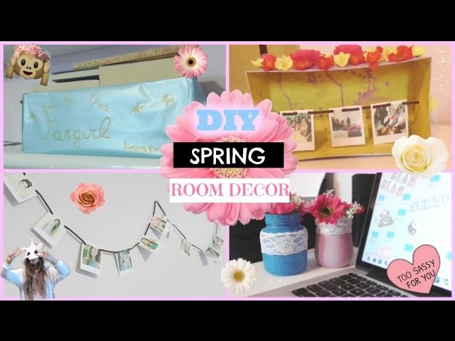 DIY Spring Room Decor | Gloria White