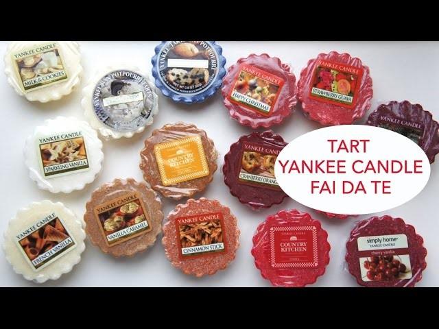 TART YANKEE CANDLE Fai da Te (candele profumate) | DIY